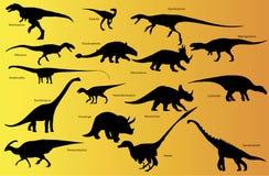 Dinosaur with name. Stock Image
