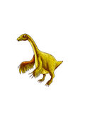 Dinosaur:nothronychus Royalty Free Stock Image