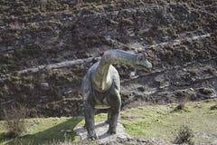 Dinosaur monument Royalty Free Stock Image