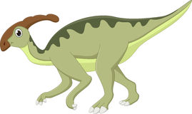 Dinosaur Parasaurolophus cartoon Royalty Free Stock Photos