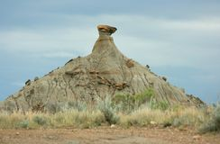 Dinosaur Park Hoodoo Royalty Free Stock Photos
