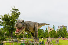 Dinosaur in the park. Stock Photography