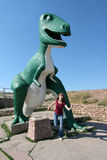 Dinosaur Park, Rapid City, South Dakota, USA. Dinosaur Park is a tourist attraction in Rapid City, South Dakota, United States. It contains seven dinosaur Royalty Free Stock Photo