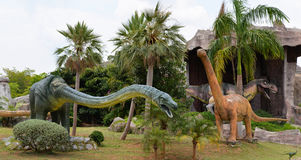 Dinosaur park Royalty Free Stock Image