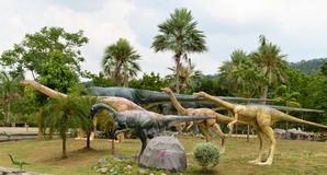 Dinosaur park Stock Photo