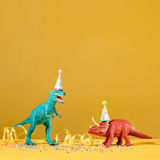 Dinosaur Party Royalty Free Stock Image