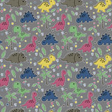 Dinosaur pattern Stock Images