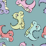 Dinosaur Pattern Royalty Free Stock Images