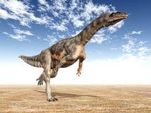 Dinosaur Plateosaurus Illustration de Vecteur