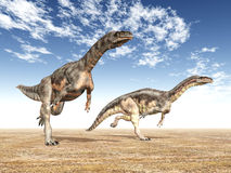 Dinosaur Plateosaurus Royalty Free Stock Images