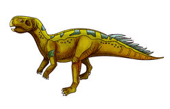 Dinosaur:plateosaurus Royalty Free Stock Images