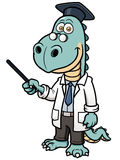 Dinosaur professor Stock Photos