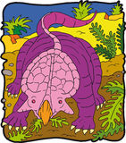 Dinosaur Protoceratopo Photo libre de droits