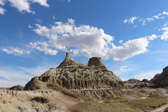Dinosaur Provincial Park. Is a UNESCO World Heritage Site located about two-and-a-half hours drive southeast of Calgary, Alberta, Canada Royalty Free Stock Photo