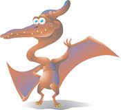 Dinosaur pteranodon  Royalty Free Stock Photos