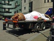 Dinosaur publicity, London Stock Photography