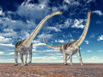 Dinosaur Puertasaurus Royalty Free Stock Images