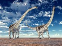 Dinosaur Puertasaurus Royalty Free Stock Images