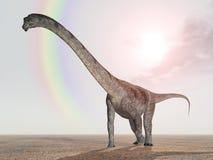 Dinosaur Puertasaurus Stock Image