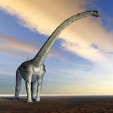 Dinosaur Puertasaurus Stock Photos
