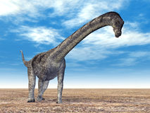 Dinosaur Puertasaurus Stock Images