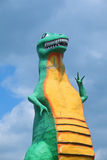 Dinosaur roadside attraction, Pigeon Fork, TN Stock Photo