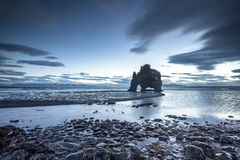 Free Dinosaur Rock Beach In Iceland Royalty Free Stock Image - 84597856
