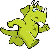 Dinosaur Running Royalty Free Stock Photography