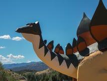 Dinosaur rzeźba obrazy stock
