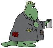 Dinosaur sans foyer illustration stock