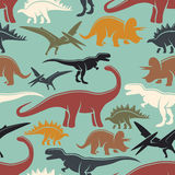 Dinosaur seamless pattern Stock Photography
