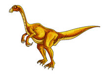 Dinosaur:segnosaurus Stock Photography