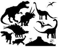 Dinosaur  set Stock Photo
