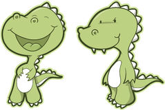 Dinosaur Set Vector Stock Photo