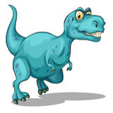 Dinosaur with sharp teeth Royalty Free Stock Images
