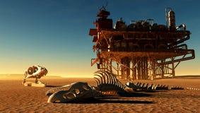 Dinosaur skeleton Royalty Free Stock Image