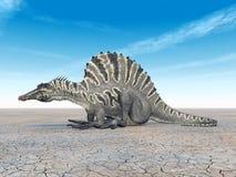 Dinosaur Spinosaurus Stock Image