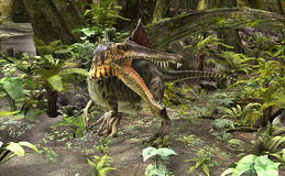 Dinosaur Spinosaurus Royalty Free Stock Photos