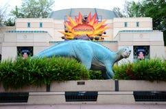 Dinosaur statue Stock Photos