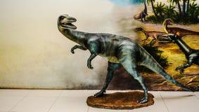 Dinosaur statues Royalty Free Stock Photos