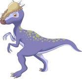 Dinosaur Stegoceras cartoon Stock Image
