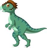 Dinosaur Stegoceras cartoon for you design Royalty Free Stock Image