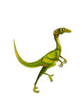 Dinosaur:stenonychosaurus Stock Photo