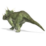 Dinosaur Styracosaurus royalty free illustration