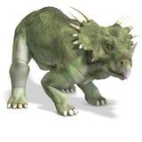 Dinosaur Styracosaurus vector illustration