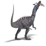 Dinosaur Suchominus stock illustration
