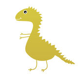 Dinosaur sweet and cute vector Stock Images