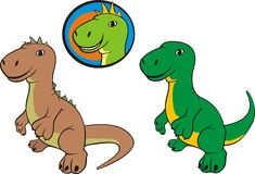 Dinosaur - t. rex Stock Photos