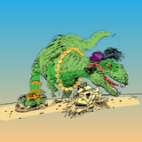 Dinosaur t Rex female Stock Photos