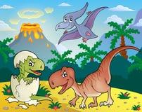 Dinosaur topic image 1 Stock Photos